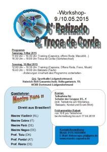 Flyer Batizado 2015